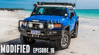 Toyota FJ Cruiser, Modified Episode 16. In this installment Andrew show us his well kitted blue FJ Cruiser. There are many ...
