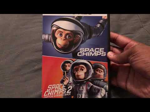 Space Chimps 1&2 Dvd Unboxing