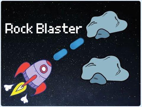 Scratch Tutorial |  Rock Blaster | Easy Beginner