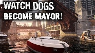 Watch Dogs Multiplayer Gameplay News: Gift To Players! Become Mayor! Stunt Location! Customization!
