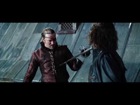 d'Artagnan kills Rochefort at the critical moment