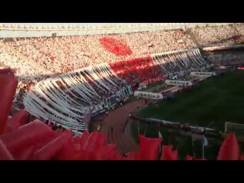 Video - RECIBIMIENTO MONUMENTAL - Hinchada de River vs Boca - Campeonato 2015 - Los Borrachos del Tablón - River Plate - Argentina