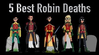 Video 5 Best Robin Deaths (And 5 Best Faked Deaths As Well) MP3, 3GP, MP4, WEBM, AVI, FLV Agustus 2018