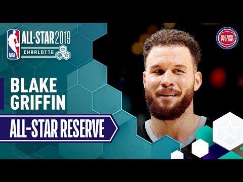Video: Blake Griffin 2019 All-Star Reserve | 2018-19 NBA Season