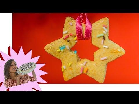 ricetta - biscotti di natale al miele da appendere!