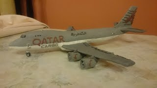 Video Boeing 747F QATAR AIRWAYS CARGO de PLASTILINA MP3, 3GP, MP4, WEBM, AVI, FLV Juni 2018