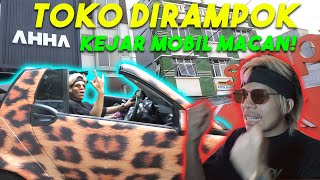 Download Video TOKO AHHA Dirampok si Dia! Atta Kejar Mobil Macan! MP3 3GP MP4