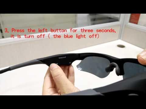 Risest SG110 waterproof sunglasses camera