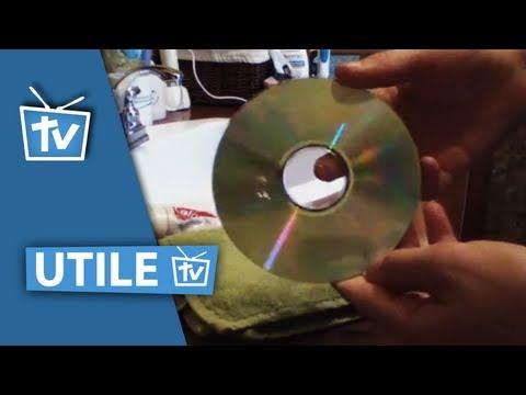 comment reparer cd egratigner