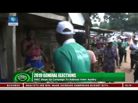 2019 Elections: INEC Steps up Campaign To Address Voter Apathy