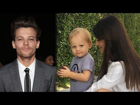 Fans FREAK Over New Pic Of Louis Tomlinson's Son Freddie (видео)