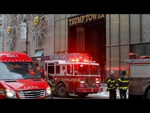 Φωτιά στον Πύργο Τραμπ