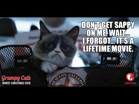 "Grumpy Cat's Worst Christmas Ever - ""A Very Grumpy Christmas"""
