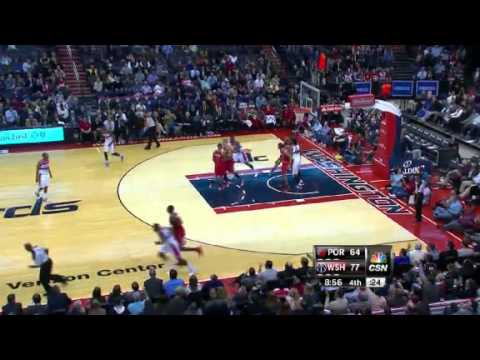 Portland Trail Blazers 82 – Washington Wizards 84