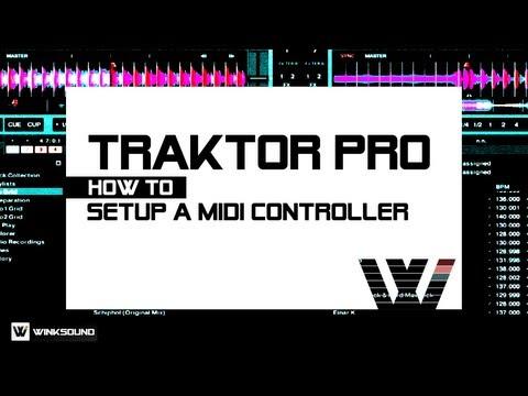 Traktor Pro: How To Setup A MIDI Controller   WinkSound