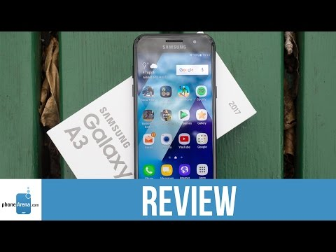 Samsung Galaxy A3 (2017) Video Review