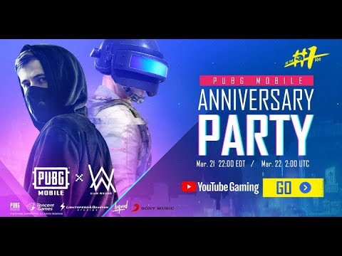 Pubg Mobile 1st Year Anniversary Party!