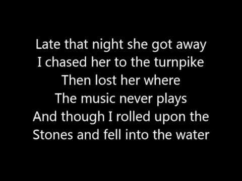Train - Angel In Blue Jeans Lyrics