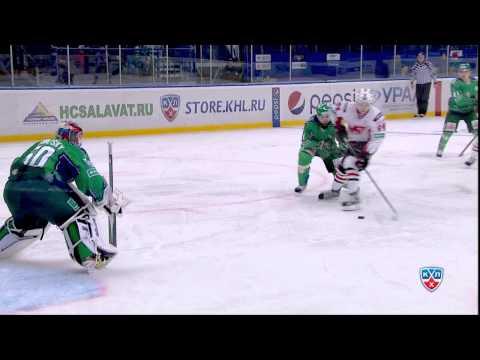 17.11 Лучшие сэйвы за 2 недели в КХЛ / 11/17 Top 10 Saves for 2 KHL Weeks (видео)
