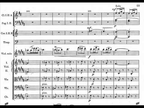 Mazurek in E minor, Op. 49 for Violin and Orchestra