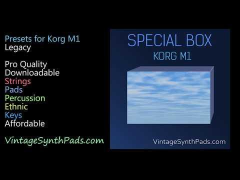 Korg M1 Legacy Presets