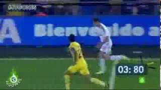 Gareth Bales Sprint gegen den FC Villarreal