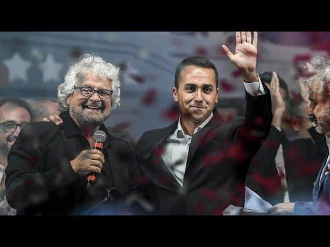 """Politische Hängepartie: Schlappe für Berlusconi und Jubel bei """"Fünf-Sterne"""""""