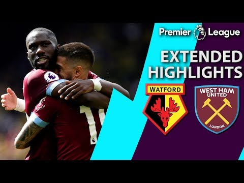 Watford v. West Ham | PREMIER LEAGUE EXTENDED HIGHLIGHTS | 5/12/19 | NBC Sports