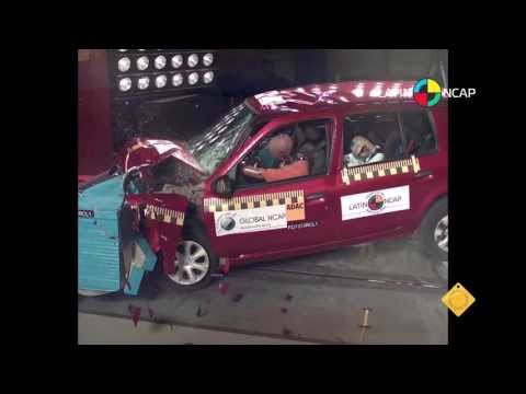 Crash Test Clio Mio