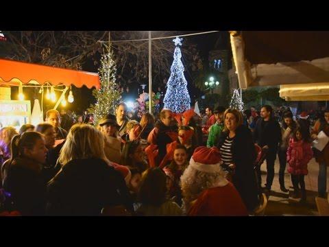 Εγκαινιάσθηκε το χωριό του Αϊ Βασίλη στο Άργος