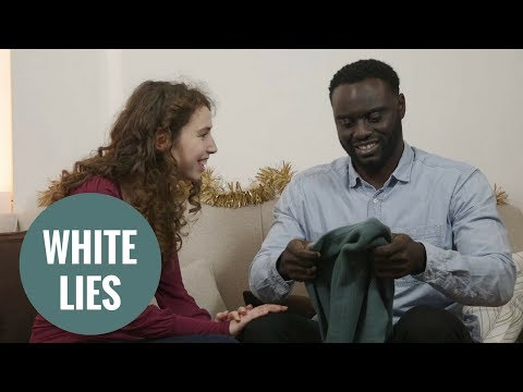 Little white lies at Christmas - what we say and what we mean