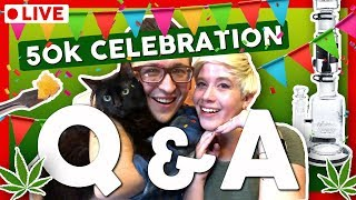 50K CELEBRATION with 50 QUESTION Q&A! by That High Couple