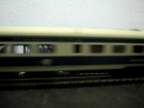 Locomotive V8 CP fase 1 HO em itirapina