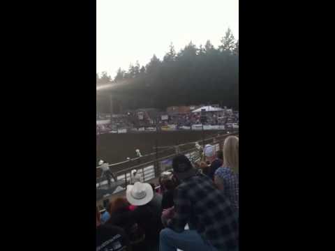Trick Riding at Thunderbird Stadium
