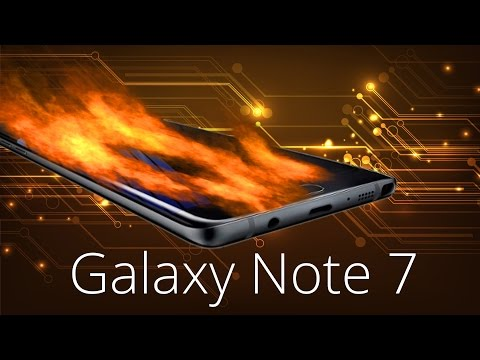 Samsung Galaxy Note 7: Note 7 Smartphones explodier ...