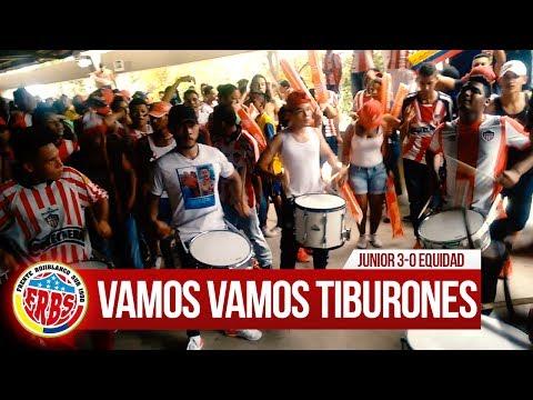 Previa Frente Rojiblanco, Instrumental - Junior 3-0 Equidad 2017 - Frente Rojiblanco Sur - Junior de Barranquilla - Colombia - América del Sur