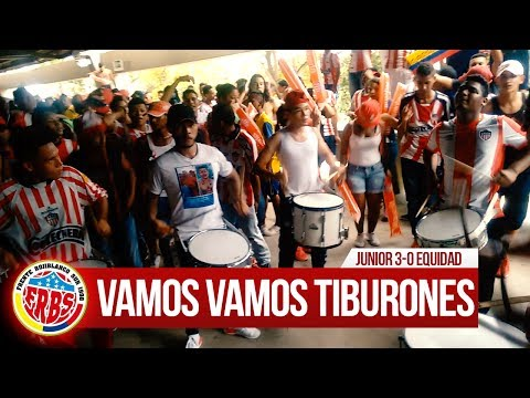 Previa Frente Rojiblanco, Instrumental - Junior 3-0 Equidad 2017 - Frente Rojiblanco Sur - Junior de Barranquilla