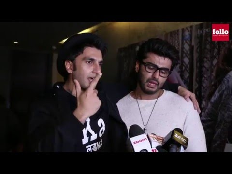 Arjun Is Evolving As an Actor: Ranveer | Follo.in