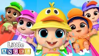 Video 5 Little Baby Ducks at the Waterpark | Little Angel Nursery Rhymes MP3, 3GP, MP4, WEBM, AVI, FLV Juli 2019