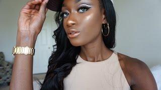 *Like *Comment *Subscribe Instagram and Twitter: Beautybybb_ Eye shadow primer: Nicka K New York white eyeshadow base Mac Eyeshadow
