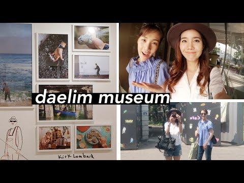 Daelim Museum & Jung Saem Mool Flagship Store!