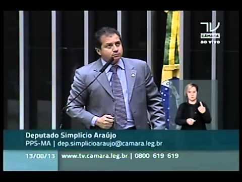Dep. Simplício Araújo defende o piso nacional dos agentes comunitários de saúde e endemias