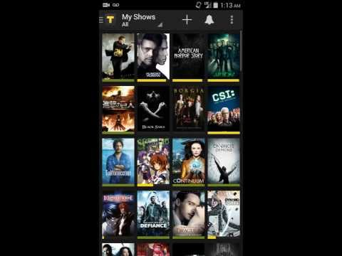 tvshow tv show - Running through the TVShow Time Android App and my thoughts on it. It's a fantastic app for keeping track of all the TV shows you watch and being social with...