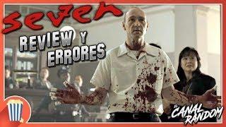 Errores de películas Seven Review Crítica y Resumen Se7en Los Siete Pecados