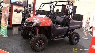 7. 2019 Honda Pioneer 700 Side by Side ATV - Walkaround - 2018 Drummondville ATV Show