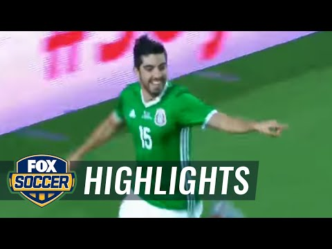 Rodolfo Pizarro gives Mexico an early lead vs. Honduras  2017 CONCACAF Gold Cup Highlights
