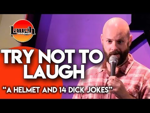 Try Not to Laugh | A Helmet and 14 Dick Jokes | Laugh Factory Stand Up Comedy