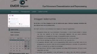 Hoe als lid inloggen in het ledengedeelte van emdr-belgium.be?