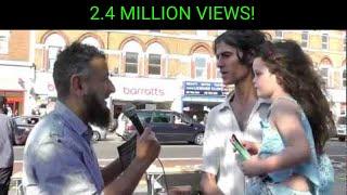 Christian becomes Muslim - Street Dawah-'Live'