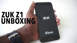 Lenovo Zuk Z1 Unboxing, First Impressions